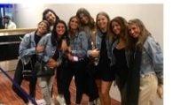 L'addio al nubilato di Cristina Chiabotto