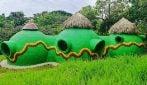 Come costruire una casa con la schiuma dei detersivi