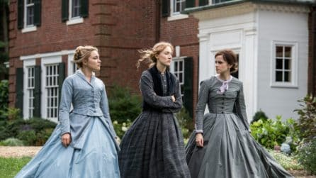 """Le foto di """"Piccole Donne"""" il film di Greta Gerwig con Emma Watson e Saoirse Ronan"""