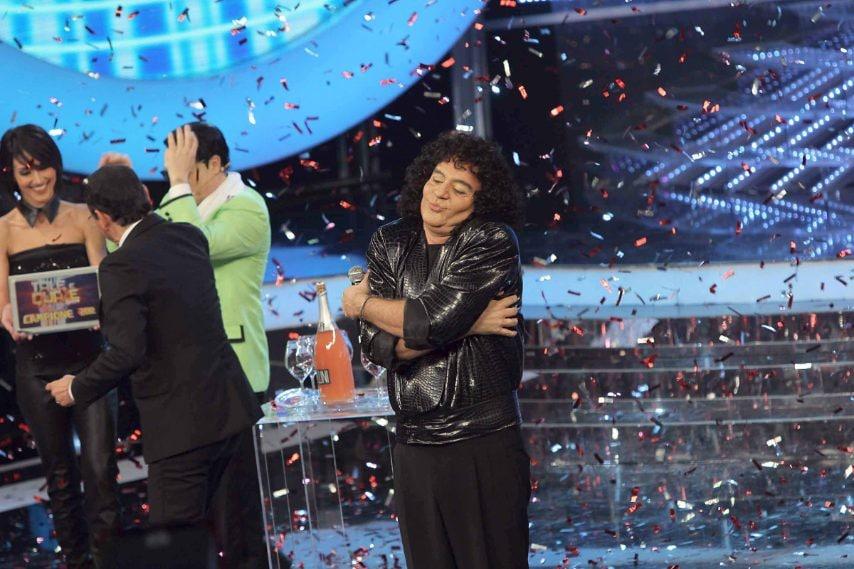 Giò Di Tonno ha vinto la seconda edizione di Tale e Quale Shownell'autunno 2012