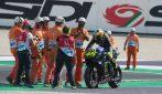 MotoGP, le foto di Valentino Rossi a Misano