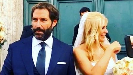 Le foto del matrimonio di Eleonora Daniele e Giulio Tassoni
