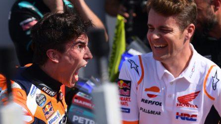 MotoGP, Marquez furioso a Misano. Quartararo e Vinales sul podio