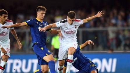 Serie A, le immagini più belle di Hellas Verona-Milan