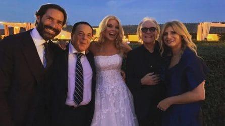 Il matrimonio di Eleonora Daniele e Giulio Tassoni