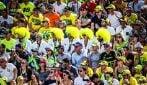 MotoGP, i colori del pubblico di Misano