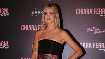 """Chiara Ferragni, il look per la prima milanese di """"Unposted"""""""