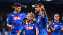 Champions League 2019/2020, le immagini Napoli-Liverpool