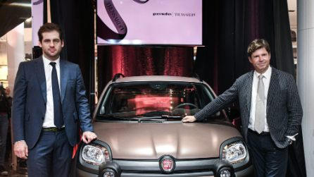 Trussardi presenta la prima Panda luxury