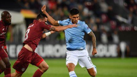 Europa League, le immagini di Cluji-Lazio
