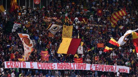 Europa League, le immagini di Roma-Basaksehir