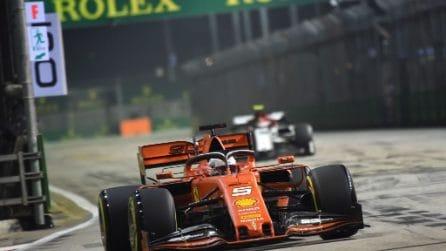 Formula 1 in pista a Singapore, Ferrari cerca conferme
