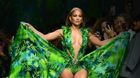 Le foto di Jennifer Lopez alla Milano Fashion Week 2019