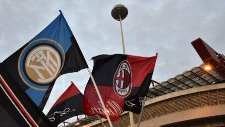 Serie A, le immagini di Milan-Inter