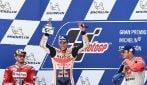 MotoGP, Marquez vince ancora ad Aragon, 2° Dovizioso