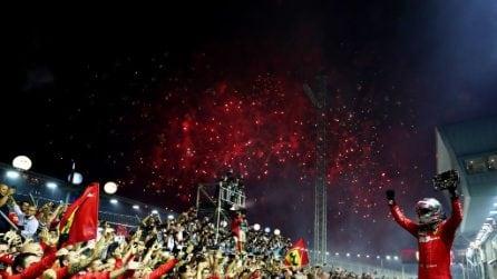 Ferrari show a Singapore, Vettel e Leclerc regalano la doppietta alla Rossa