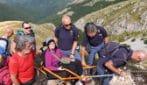 Il cuore d'oro della Polizia: coronato il sogno di una disabile che riesce a salire sul Terminillo