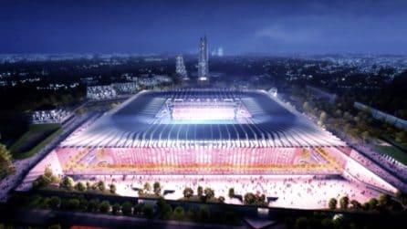 Le immagini del nuovo Stadio di Milano
