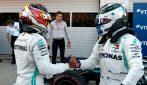 Beffa Ferrari a Sochi, Hamilton e Bottas regalano la doppietta alla Mercedes