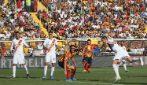 Serie A 19-20, le immagini di Lecce-Roma