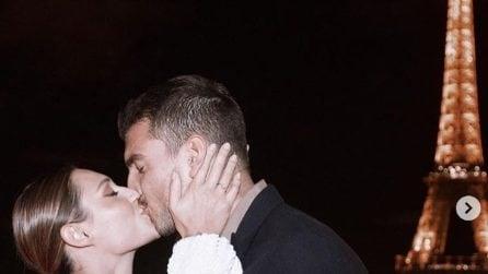 Marco Fantini fa la proposta di matrimonio a Beatrice Valli