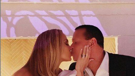 La sfarzosa festa di fidanzamento di JLo e Alexander Rodriguez