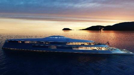 A bordo del primo yacht che si sposta ad idrogeno e dove tutto è ispirato all'acqua