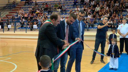 Giugliano, l'apertura del nuovo Palazzetto dello Sport nel quartiere Casacelle