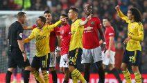 Premier League, Manchester United-Arsenal 1-1