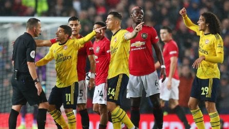Premier League, Manchester United-Arsenal 1-1