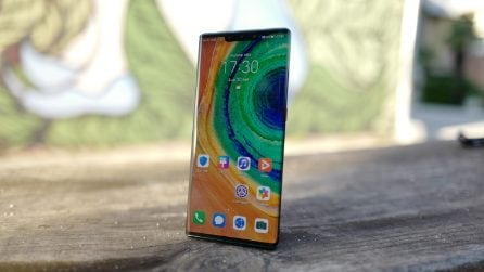 Huawei Mate 30 Pro: il design