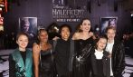 Angelina Jolie e i figli alla prima mondiale di Maleficent 2