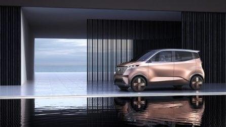 Ecco il nuovo concept IMk, il futuro dell'auto secondo Nissan