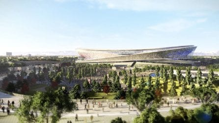 Le immagini degli Anelli di Milano, il futuro San Siro 2.0