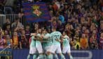 Champions League, le immagini di Barcellona-Inter