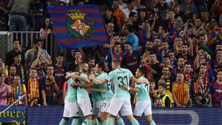 Champions League, le immagini di Barcellona-Inter