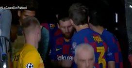 Il discorso motivazionale di Messi al Barcellona
