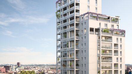 Lusso, verde e 'Alexa': ecco la nuova torre di 23 piani alla Maggiolina