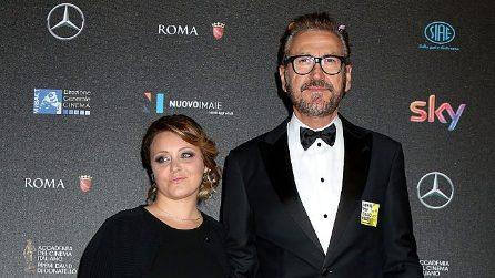 Le foto di Marco Giallini con la fidanzata Stella Scarafoni