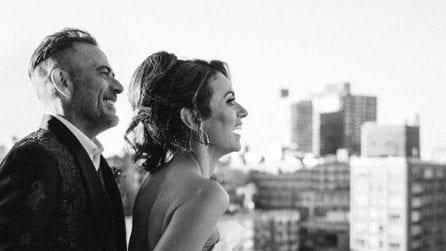 Le foto del matrimonio di Jeffrey Dean Morgan e Hilarie Burton