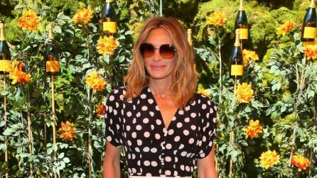 Julia Roberts, look a pois come in Pretty Woman