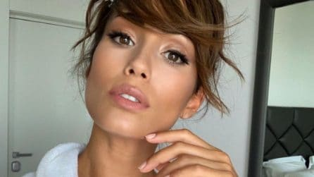 Federica Nargi, il nuovo taglio di capelli per l'autunno 2019
