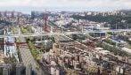 Come sarà il parco attorno al nuovo ponte Morandi