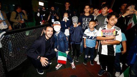 L'Italia fa visita all'Ospedale Bambin Gesù di Roma