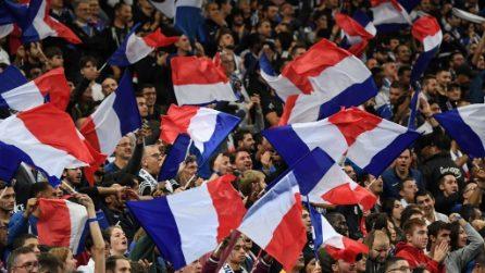 Euro 2020, le immagini di Francia-Turchia