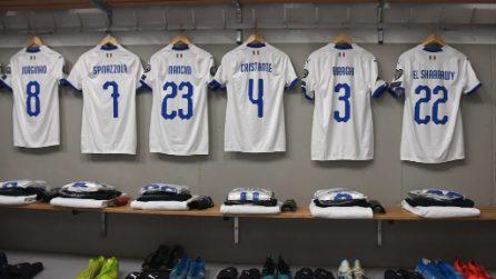 Euro 2020, le immagini di Liechtenstein-Italia