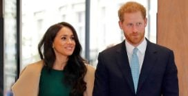 Meghan Markle ricicla l'abito verde del fidanzamento con Harry