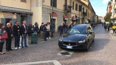 Le immagini dei funerali di Manuel Frattini