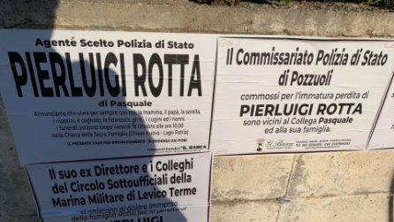 I funerali dell'agente Pierluigi Rotta, poliziotto ucciso a Trieste