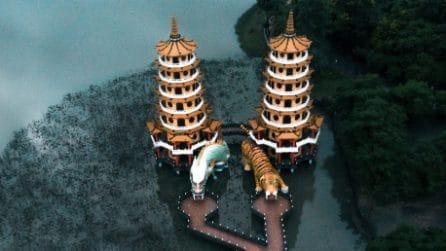 Gli 8 templi asiatici più belli del mondo visti dall'alto